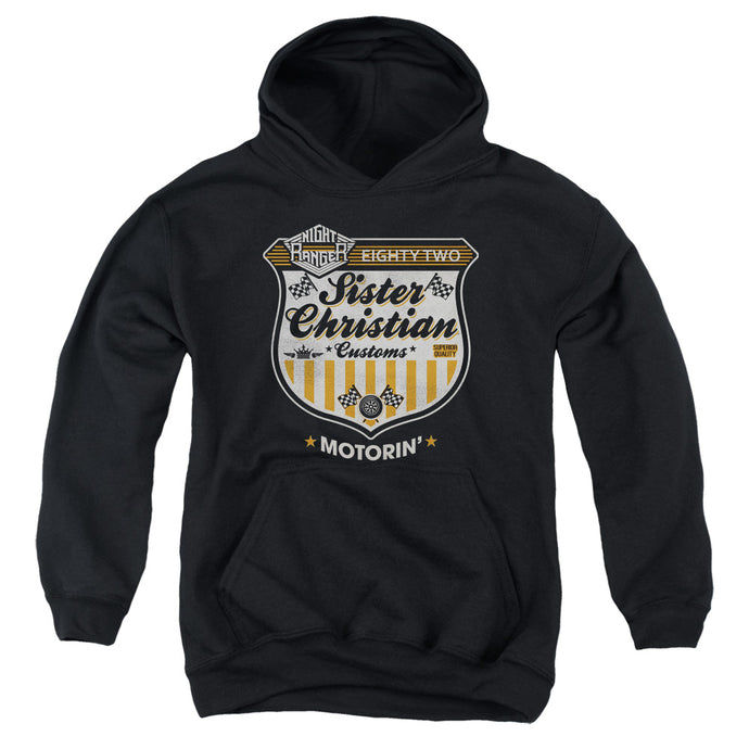 Night Ranger - Motorin Youth Pull Over Hoodie - Special Holiday Gift