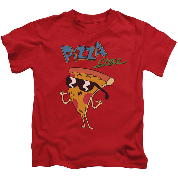 Uncle Grandpa - Pizza Steve Short Sleeve Juvenile 18/1 Tee - Special Holiday Gift