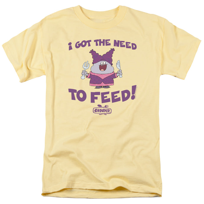 Chowder - The Need Short Sleeve Adult 18/1 Tee - Special Holiday Gift