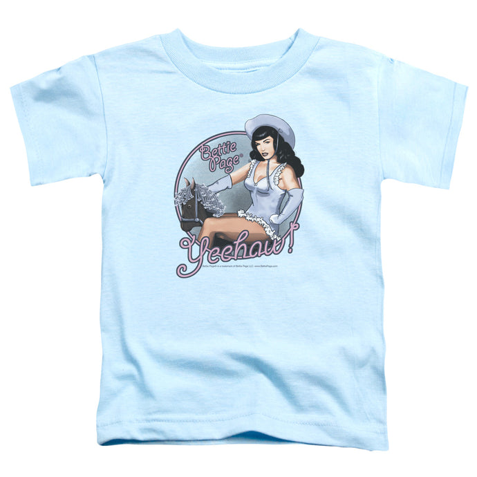Bettie Page - Cowgirl Short Sleeve Toddler Tee - Special Holiday Gift