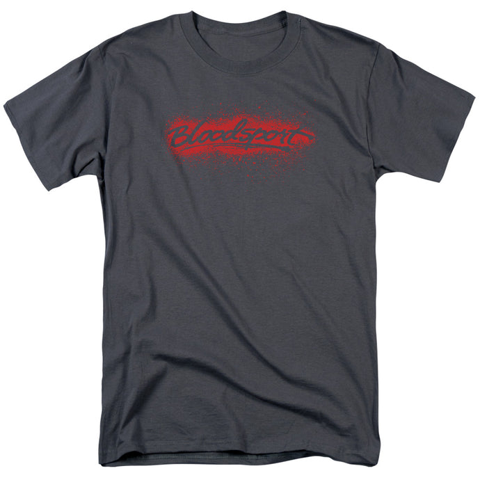 Bloodsport - Blood Splatter Short Sleeve Adult 18/1 Tee - Special Holiday Gift