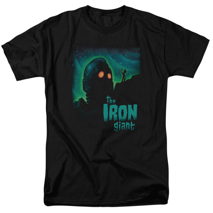 Iron Giant - Look To The Stars Short Sleeve Adult 18/1 Tee - Special Holiday Gift