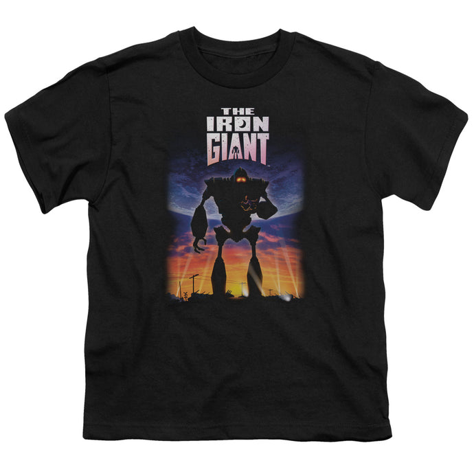 Iron Giant - Poster Short Sleeve Youth 18/1 Tee - Special Holiday Gift
