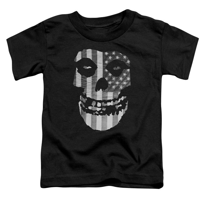 Misfits - Fiend Flag Short Sleeve Toddler Tee - Special Holiday Gift