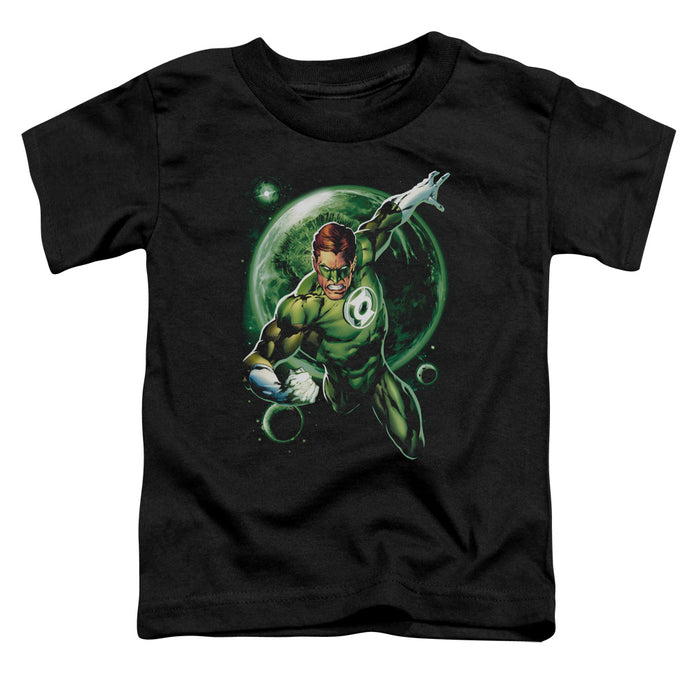 Green Lantern - Galaxy Glow Short Sleeve Toddler Tee - Special Holiday Gift
