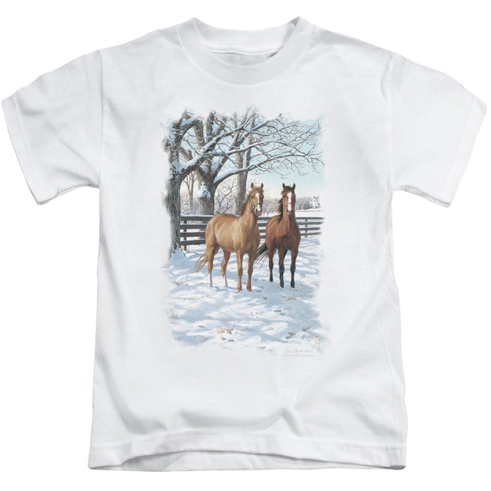 Wildlife - Coffee And Chocolate Short Sleeve Juvenile 18/1 Tee - Special Holiday Gift