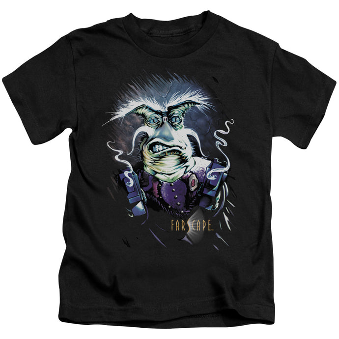 Farscape - Rygel Smoking Guns Short Sleeve Juvenile 18/1 Tee - Special Holiday Gift