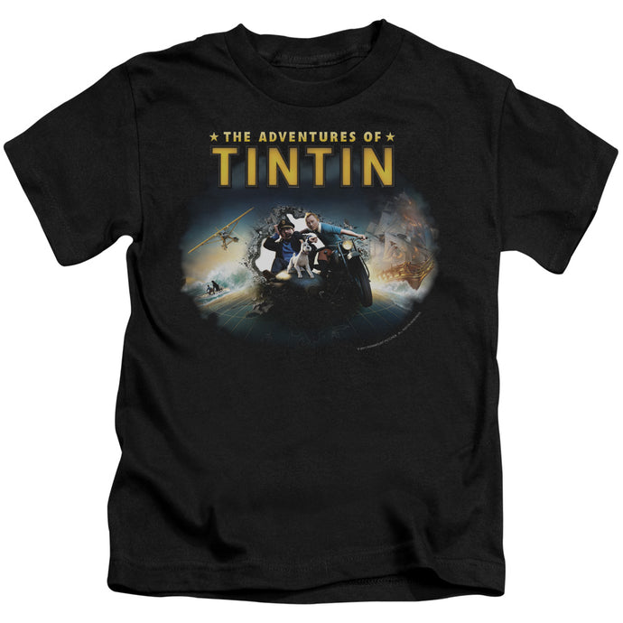 Tintin - Journey Short Sleeve Juvenile 18/1 Tee - Special Holiday Gift
