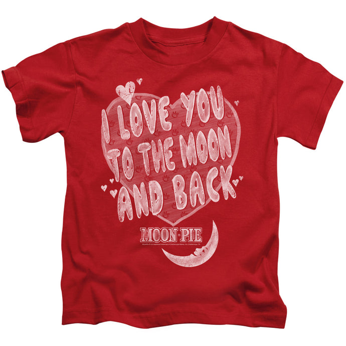Moon Pie - I Love You Short Sleeve Juvenile 18/1 Tee - Special Holiday Gift