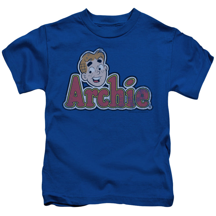 Archie Comics - Distressed Archie Logo Short Sleeve Juvenile 18/1 Tee - Special Holiday Gift