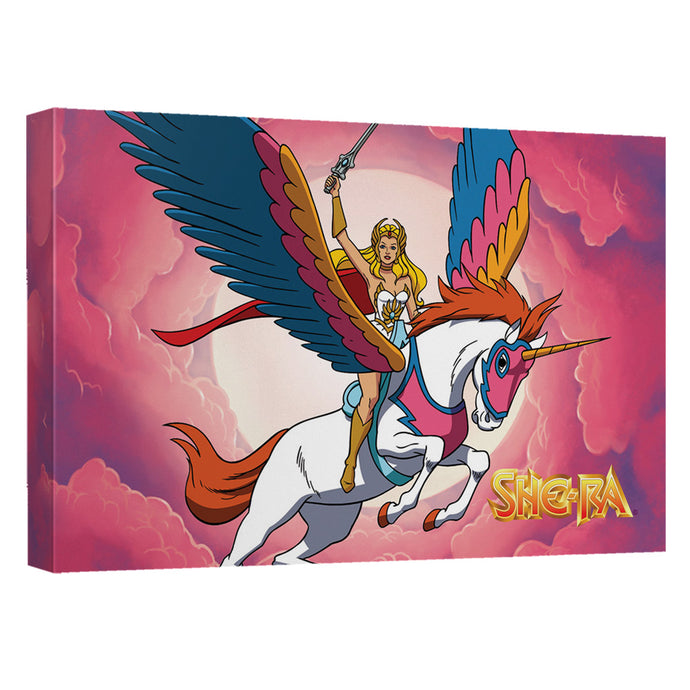She Ra - Clouds Canvas Wall Art With Back Board - Special Holiday Gift
