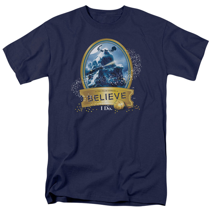 Polar Express - True Believer Short Sleeve Adult 18/1 Tee - Special Holiday Gift