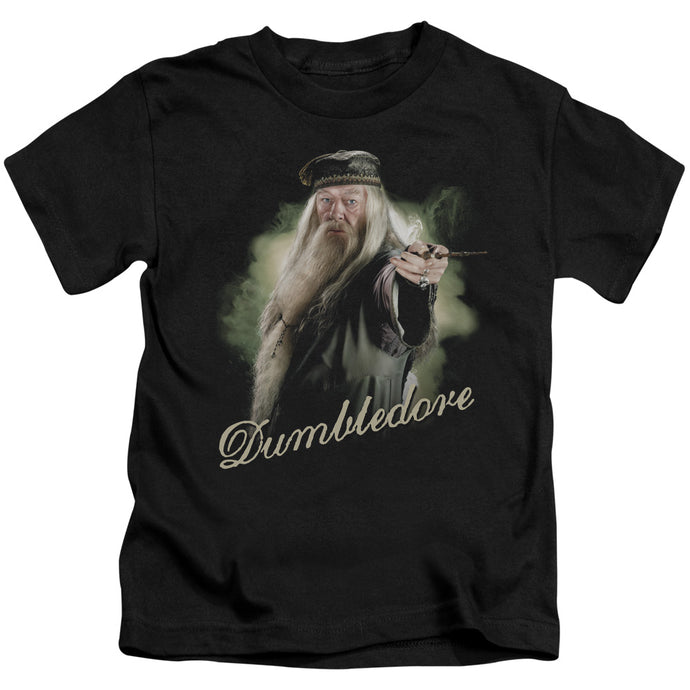 Harry Potter - Dumbledore Wand Short Sleeve Juvenile 18/1 Tee - Special Holiday Gift
