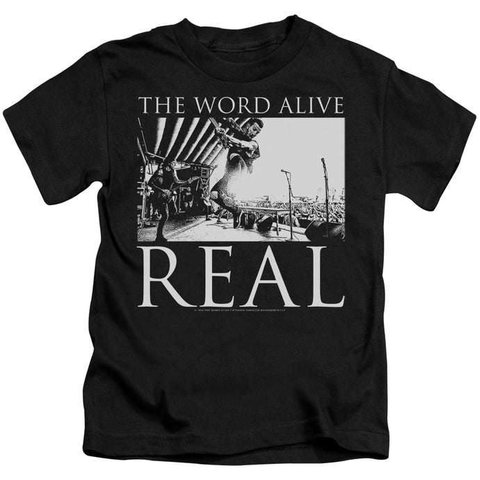 The Word Alive - Live Shot Short Sleeve Juvenile 18/1 Tee - Special Holiday Gift
