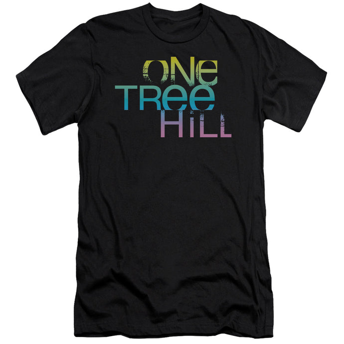 One Tree Hill - Color Blend Logo Short Sleeve Adult 30/1 Tee - Special Holiday Gift