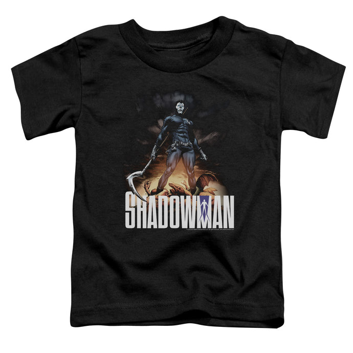 Shadowman - Shadow Victory Short Sleeve Toddler Tee - Special Holiday Gift