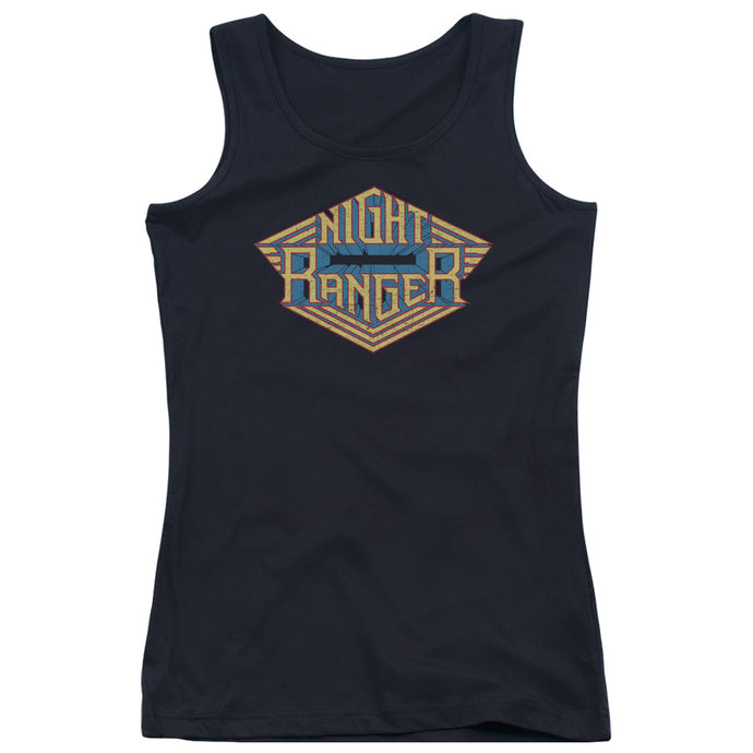 Night Ranger - Logo Juniors Tank Top - Special Holiday Gift