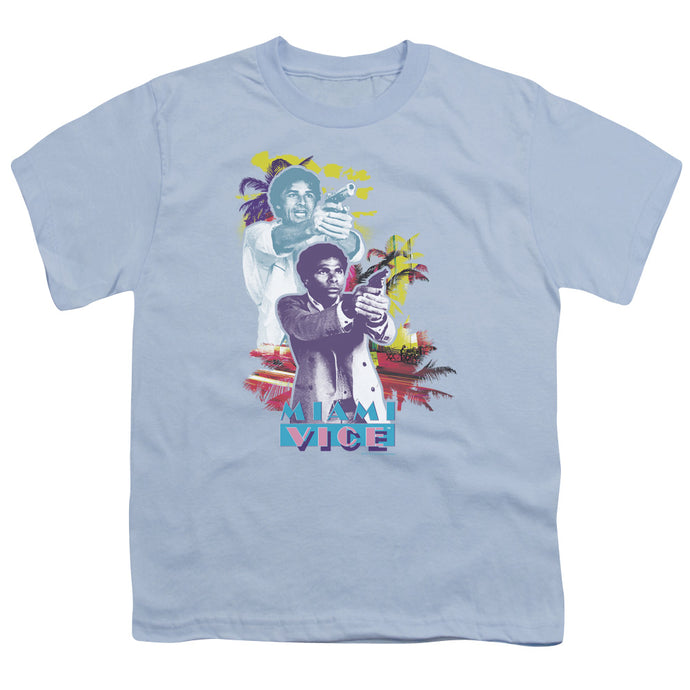 Miami Vice - Freeze Short Sleeve Youth 18/1 Tee - Special Holiday Gift