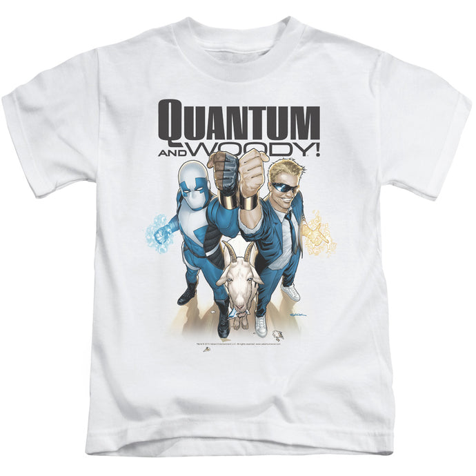 Quantum And Woody - Quantum And Woody Short Sleeve Juvenile 18/1 Tee - Special Holiday Gift