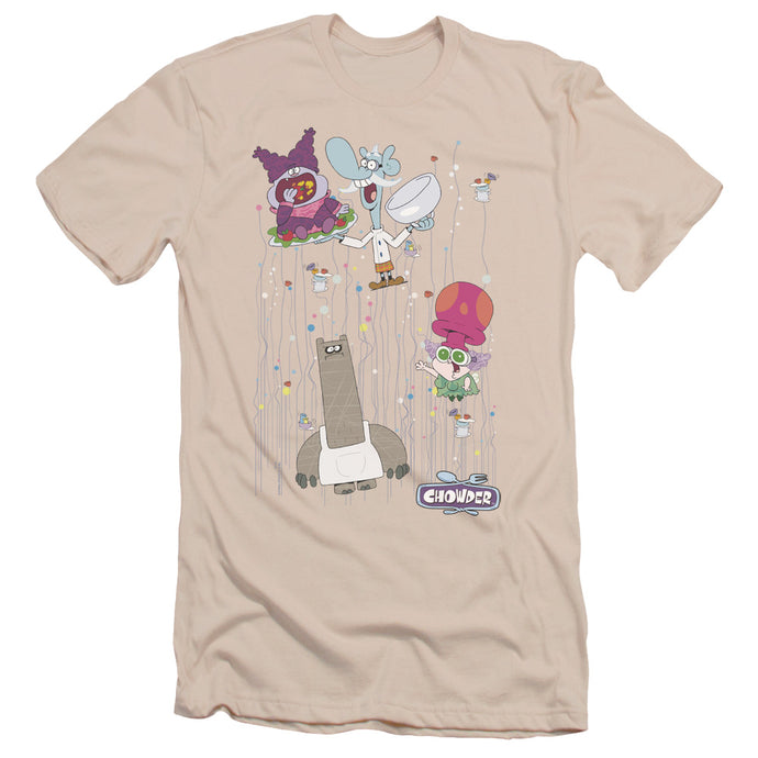 Chowder - Dots Collage Short Sleeve Adult 30/1 Tee - Special Holiday Gift