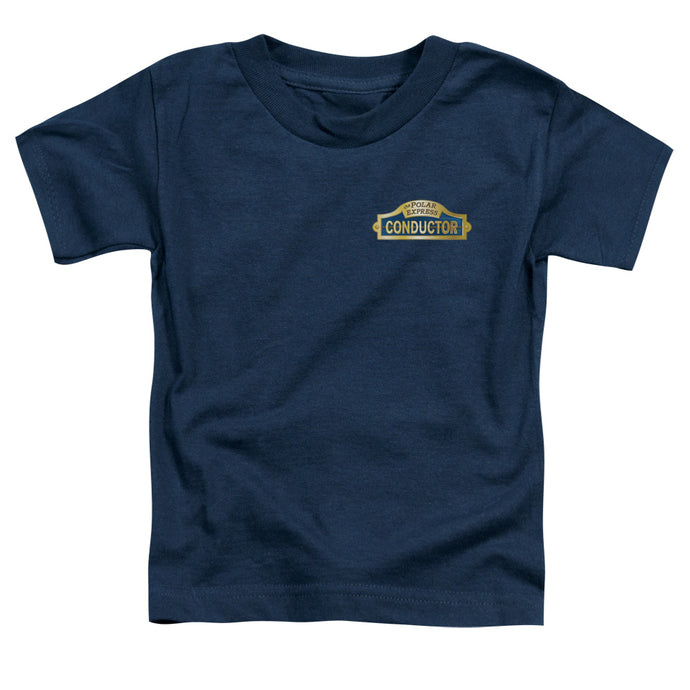 Polar Express - Conductor Short Sleeve Toddler Tee - Special Holiday Gift
