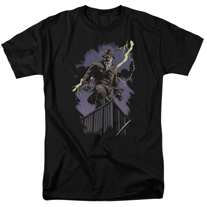 Watchmen - Rorschach Night Short Sleeve Adult 18/1 Tee - Special Holiday Gift