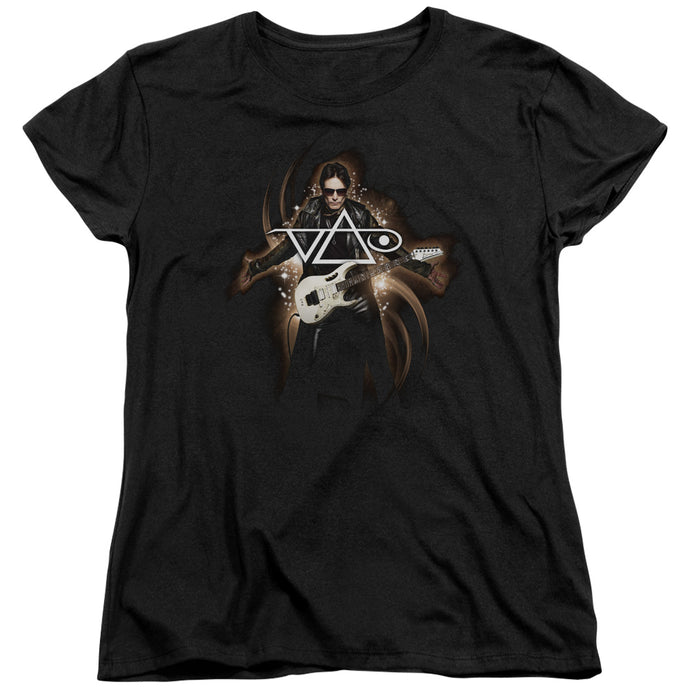 Steve Vai - Vai Guitar Short Sleeve Women's Tee - Special Holiday Gift