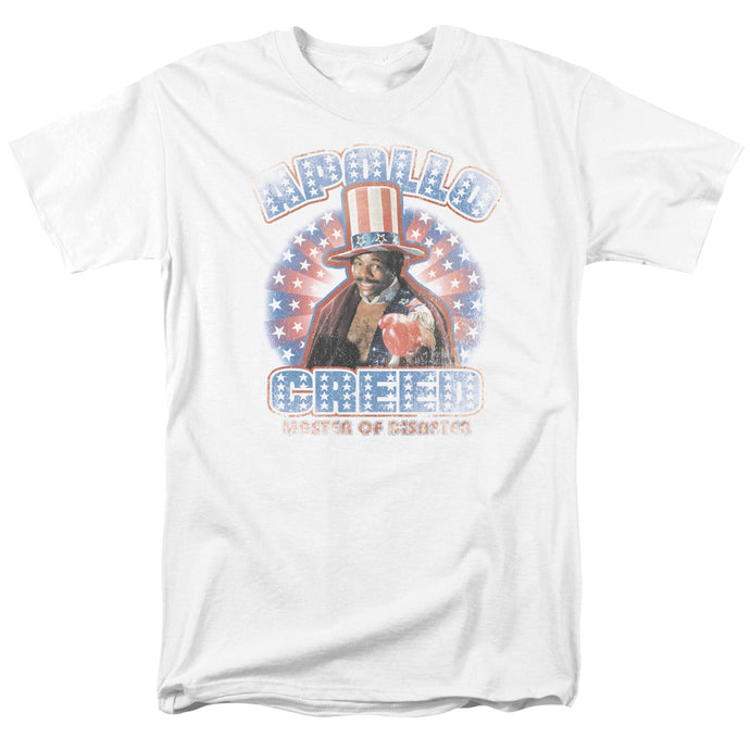 Rocky - Apollo Creed Short Sleeve Adult 18/1 Tee - Special Holiday Gift