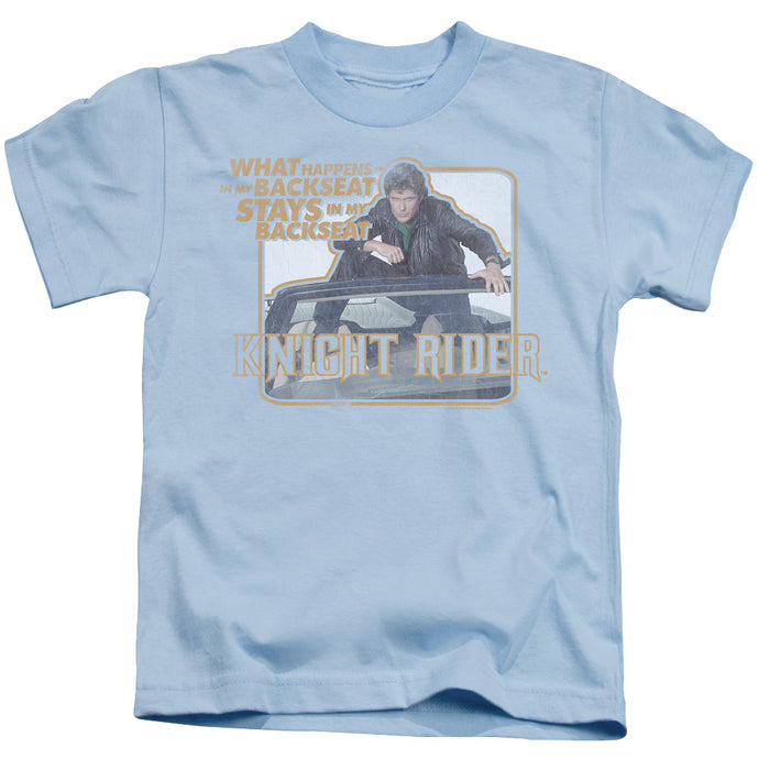 Knight Rider - Back Seat Short Sleeve Juvenile 18/1 Tee - Special Holiday Gift