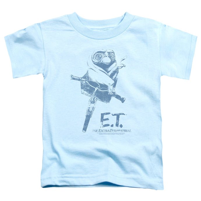 Et - Bike Short Sleeve Toddler Tee - Special Holiday Gift