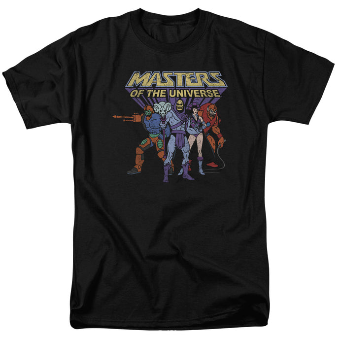 Masters Of The Universe - Team Of Villains Short Sleeve Adult 18/1 Tee - Special Holiday Gift