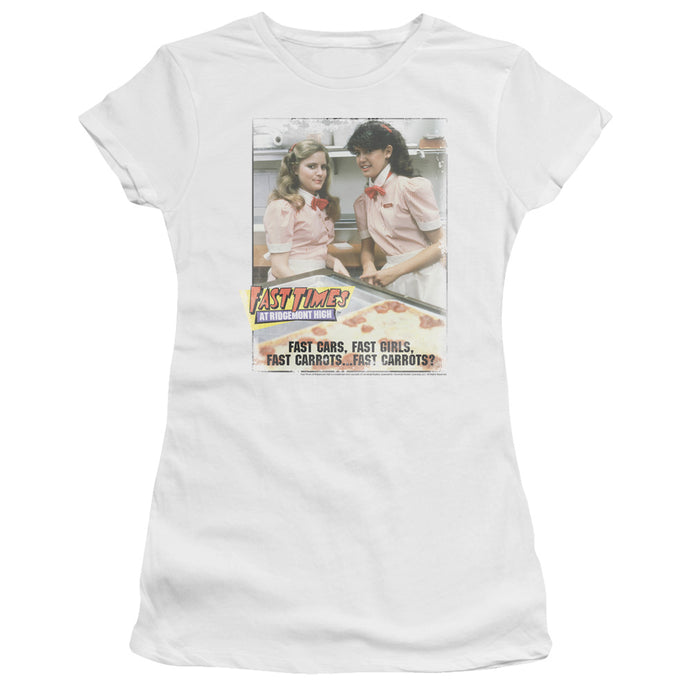 Fast Times Ridgemont High - Fast Carrots Short Sleeve Junior Sheer - Special Holiday Gift