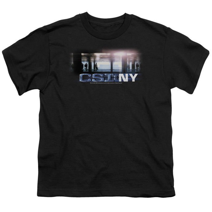 Csi - New York Subway Short Sleeve Youth 18/1 Tee - Special Holiday Gift