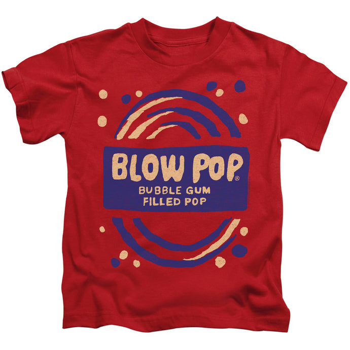 Tootsie Roll - Blow Pop Rough Short Sleeve Juvenile 18/1 Tee - Special Holiday Gift