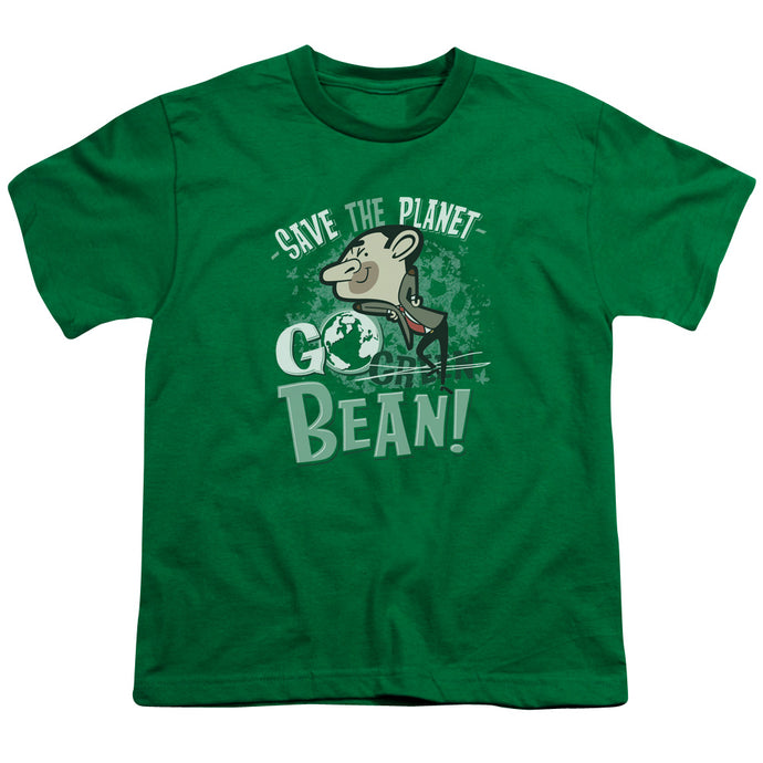 Mr Bean - Go Bean Short Sleeve Youth 18/1 Tee - Special Holiday Gift