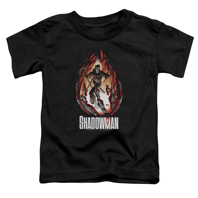 Shadowman - Burst Short Sleeve Toddler Tee - Special Holiday Gift