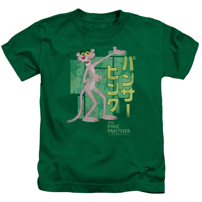 Pink Panther - Asian Letters Short Sleeve Juvenile 18/1 Tee - Special Holiday Gift