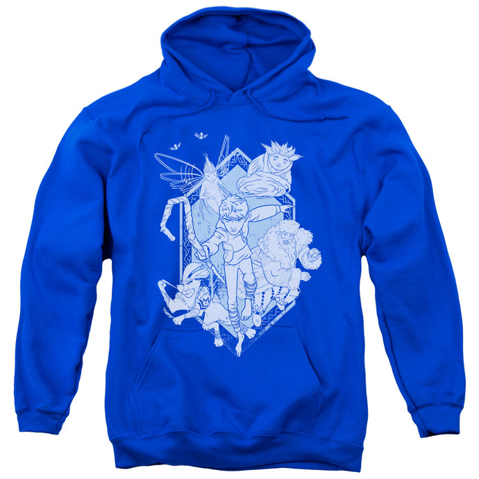 Rise Of The Guardians - Coming For You Adult Pull Over Hoodie - Special Holiday Gift