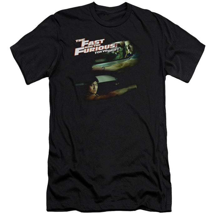 Tokyo Drift - Drifting Together Short Sleeve Adult 30/1 Tee - Special Holiday Gift