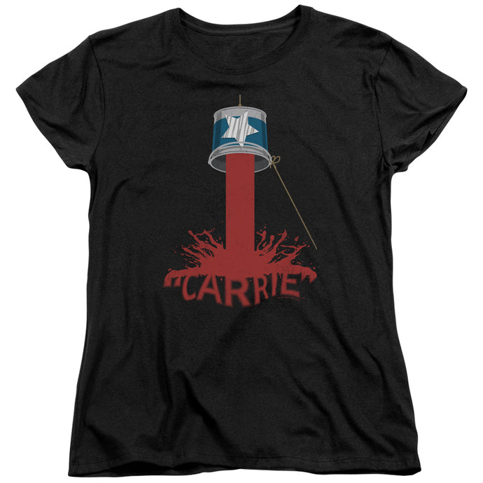 Carrie - Bucket Of Blood Short Sleeve Women's Tee - Special Holiday Gift