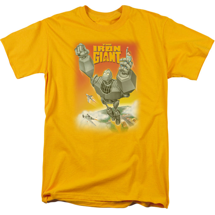 Iron Giant - Fly Away Short Sleeve Adult 18/1 Tee - Special Holiday Gift