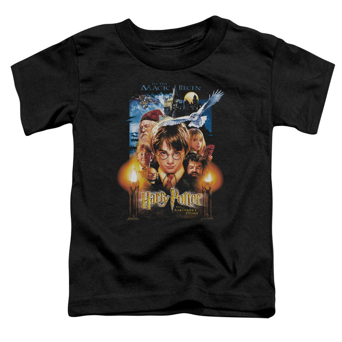 Harry Potter - Movie Poster Short Sleeve Toddler Tee - Special Holiday Gift