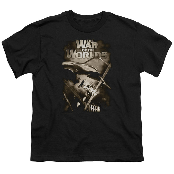 War Of The Worlds - Death Rays Short Sleeve Youth 18/1 Tee - Special Holiday Gift
