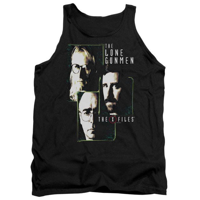 X Files - Lone Gunmen Adult Tank - Special Holiday Gift