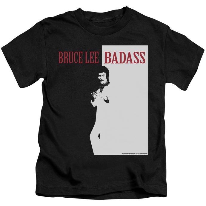 Bruce Lee - Badass Short Sleeve Juvenile 18/1 Tee - Special Holiday Gift