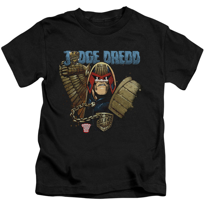 Judge Dredd - Smile Scumbag Short Sleeve Juvenile 18/1 Tee - Special Holiday Gift
