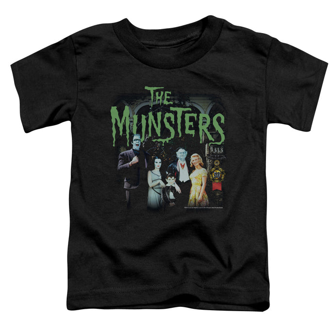 The Munsters - 1313 50 Years Short Sleeve Toddler Tee - Special Holiday Gift