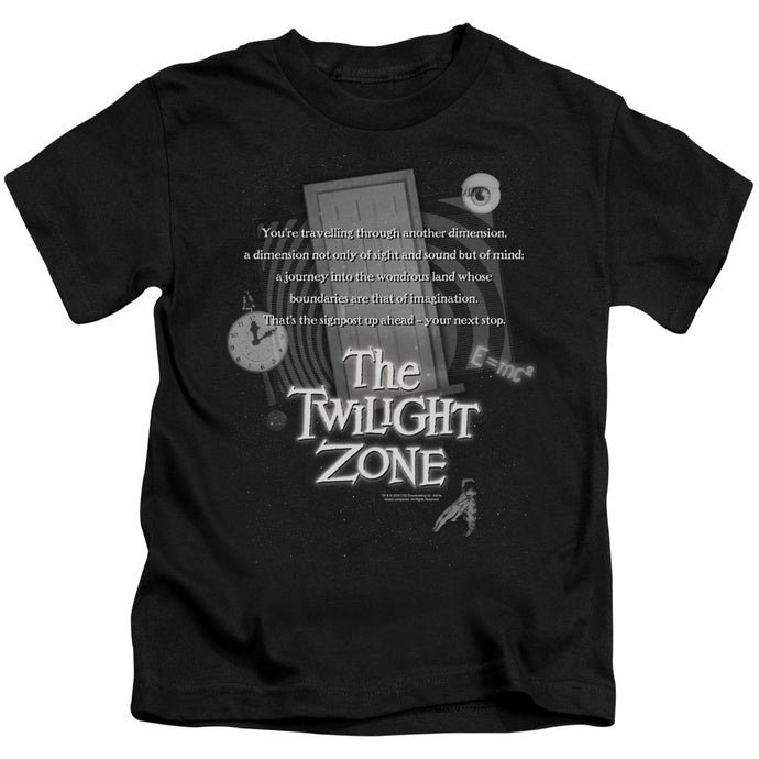 Twilight Zone - Monologue Short Sleeve Juvenile 18/1 Tee - Special Holiday Gift