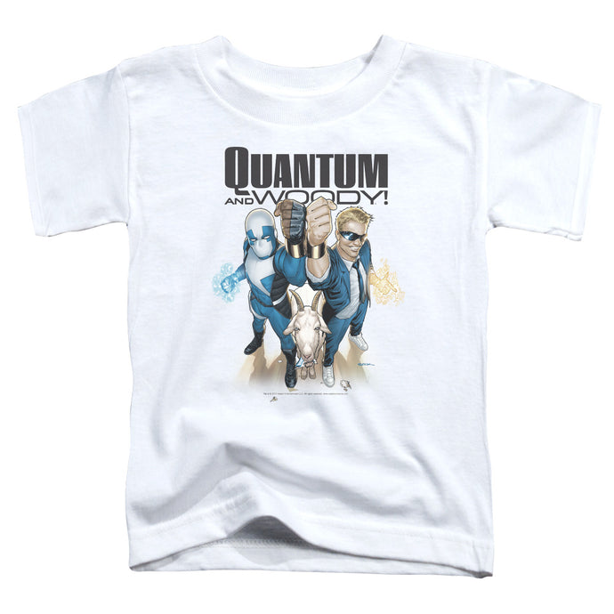 Quantum And Woody - Quantum And Woody Short Sleeve Toddler Tee - Special Holiday Gift