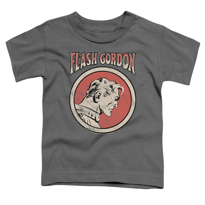 Flash Gordon - Flash Circle Short Sleeve Toddler Tee - Special Holiday Gift